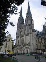 St. Wenzels Domkirche in Olomouc