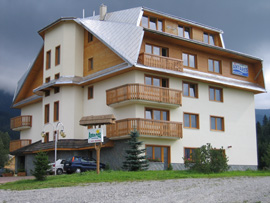 Unsere �bernachtungs-Pension Antares in Zuberec