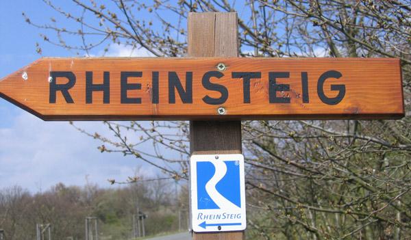 Rheinsteig Wanderung von Wiesbaden bis Rüdesheim (Rheingau)